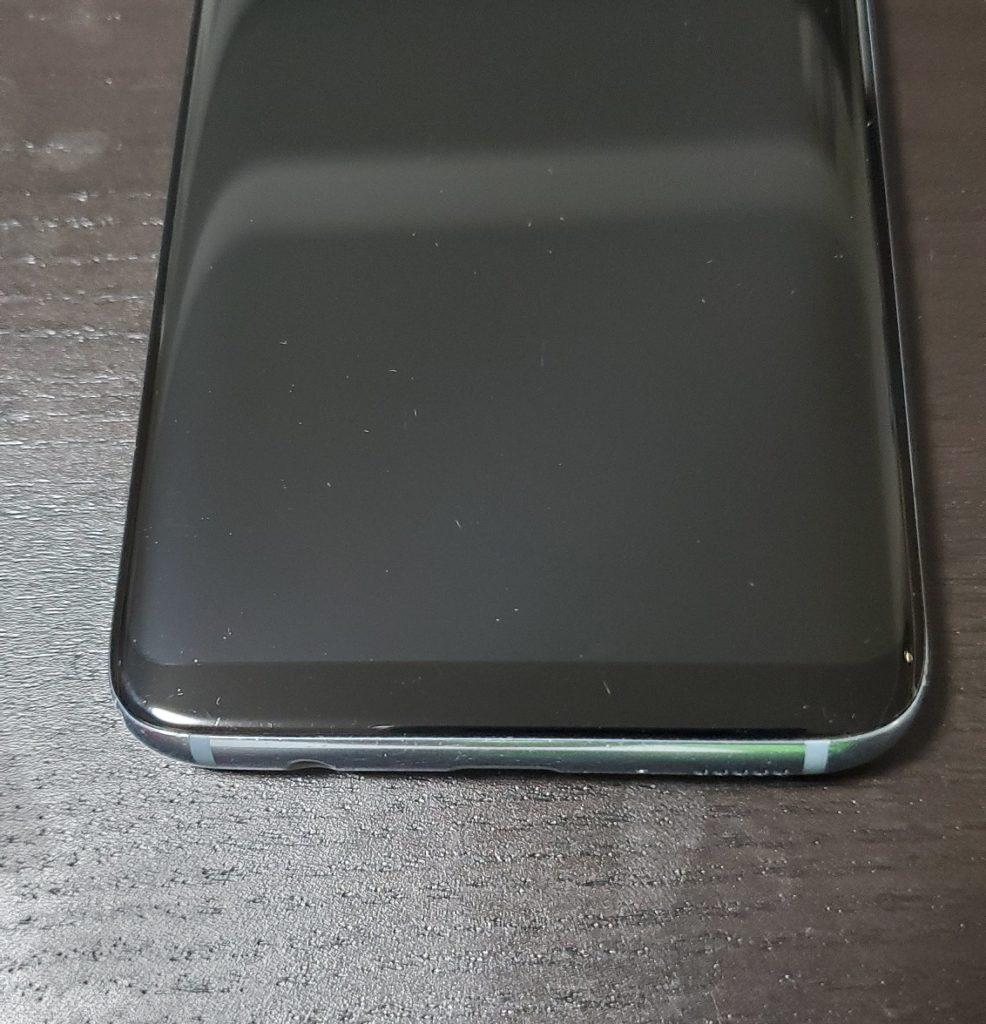 保護フィルムなし Galaxy S81枚目