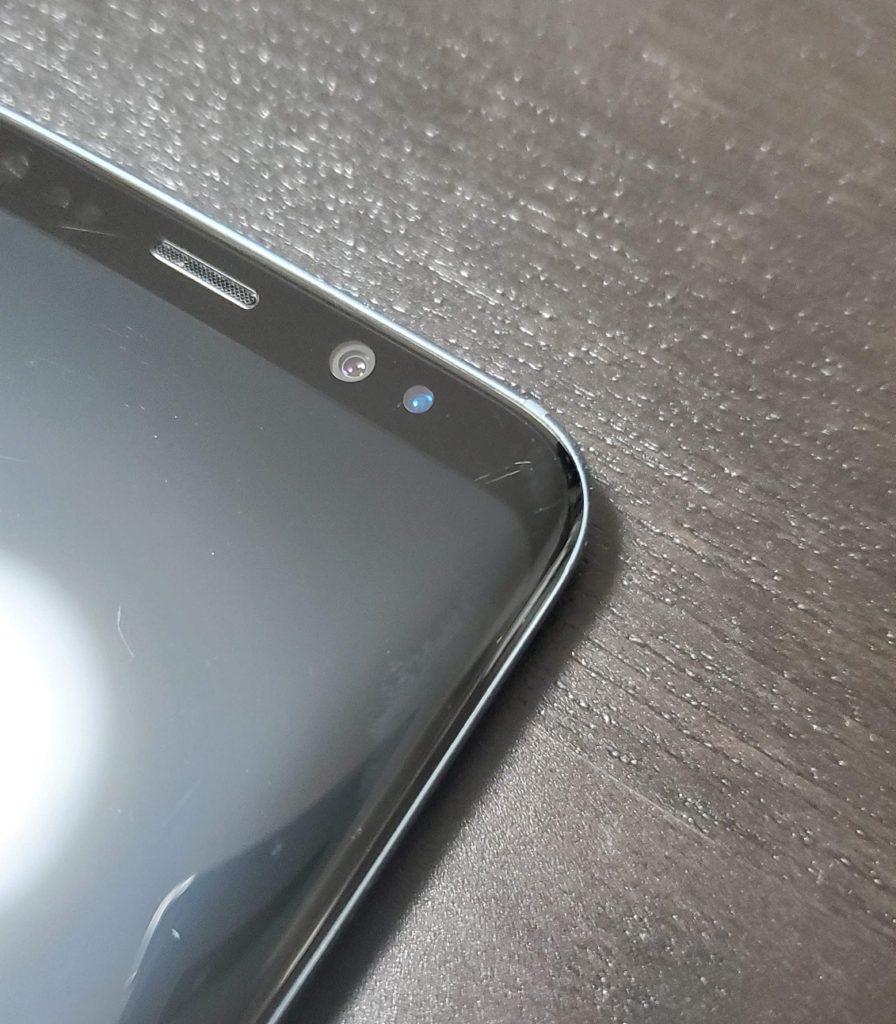 保護フィルムなし Galaxy S8 3枚目