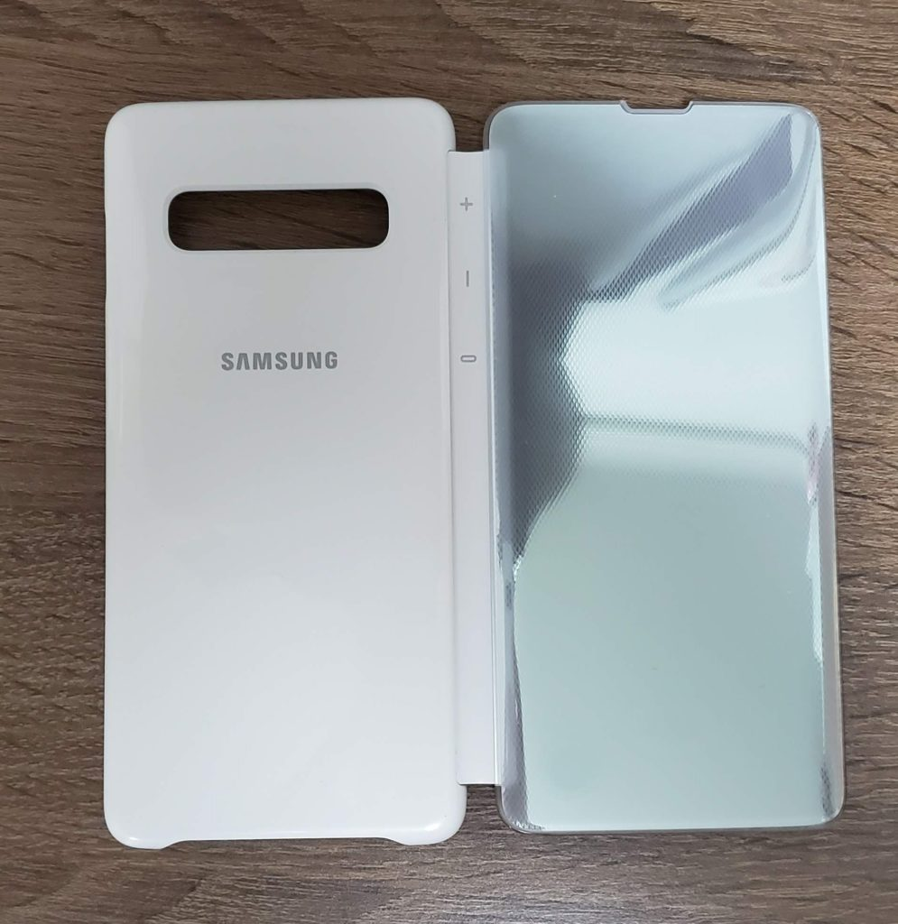 Galaxy S10 Clear View Cover 外観1