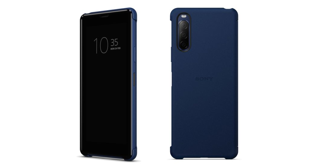 Xperia 10 II Style Cover View