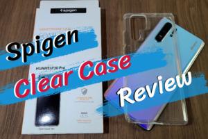 Spigen(シュピゲン) クリアケースのレビュー|TPU素材採用で品質高し!【HUAWEI P30 Pro】