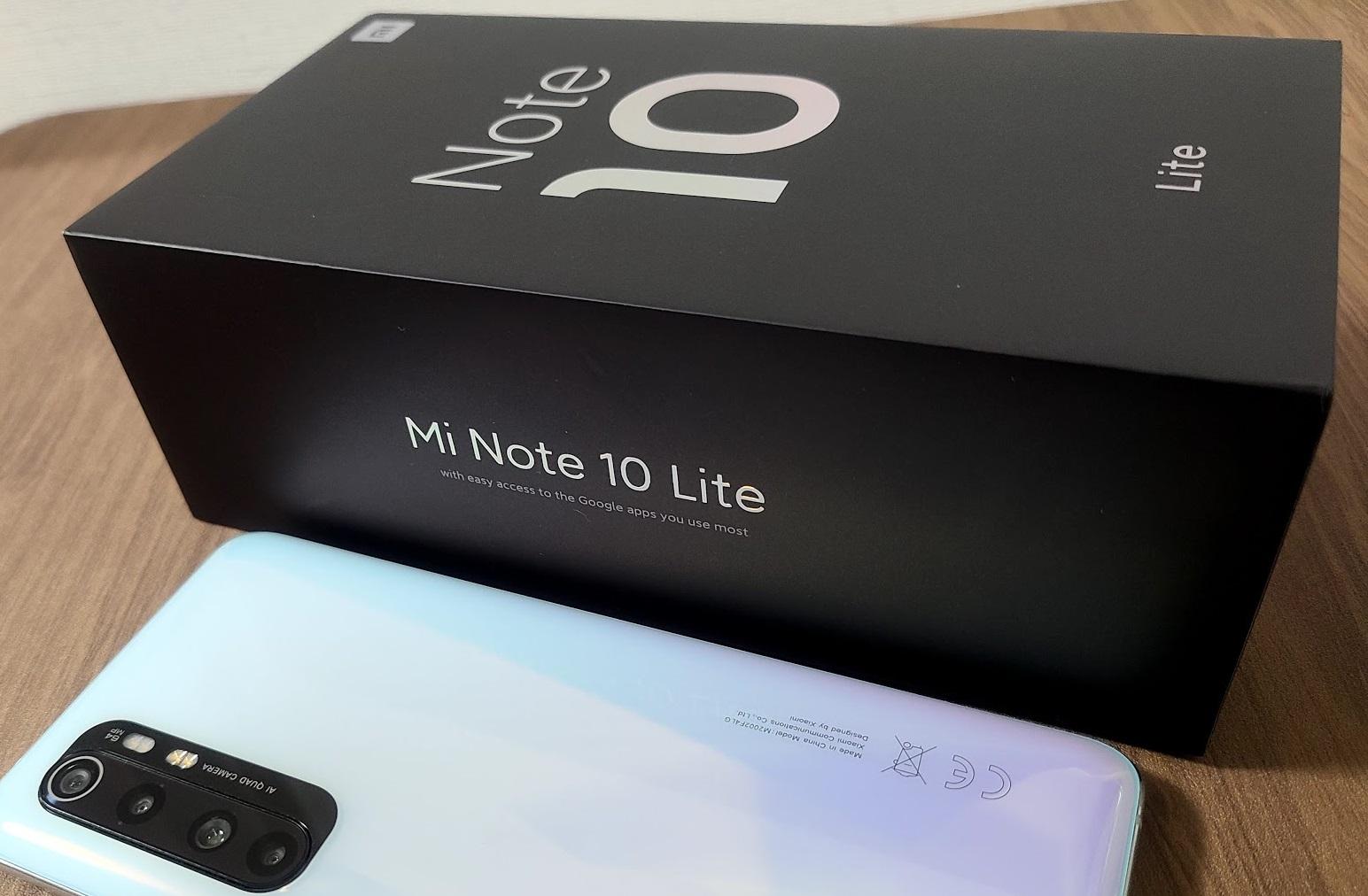 Xiaomi Mi Note 10 liteのレビュー これが3万円台なんて夢みたいだ・・   ガジェタク