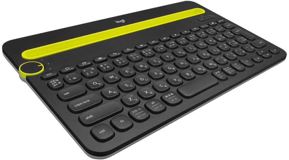 キーボード ロジクール ワイヤレスキーボード K480BK