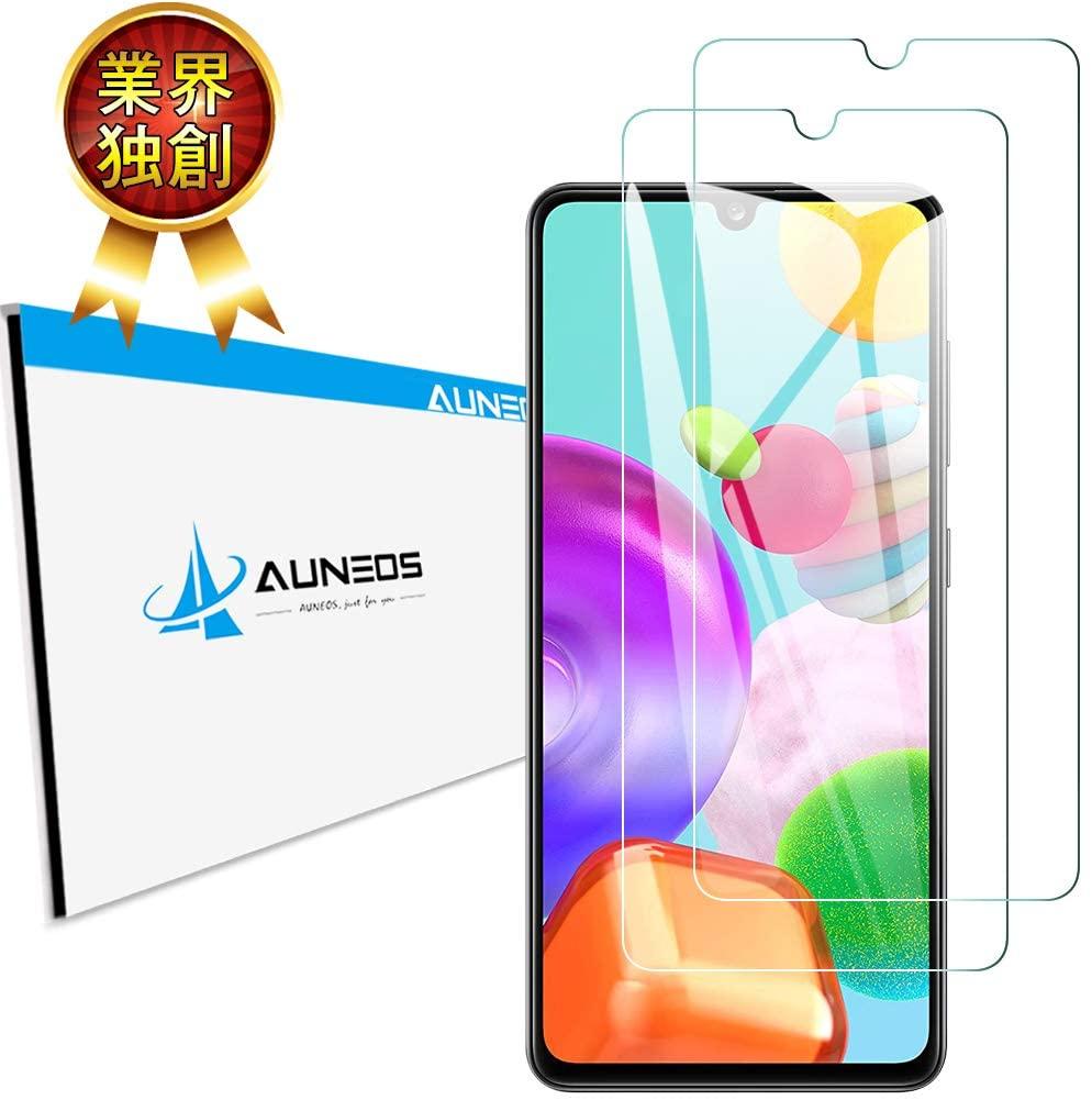 AUNEOS Galaxy A41 ガラスフィルム2枚入り
