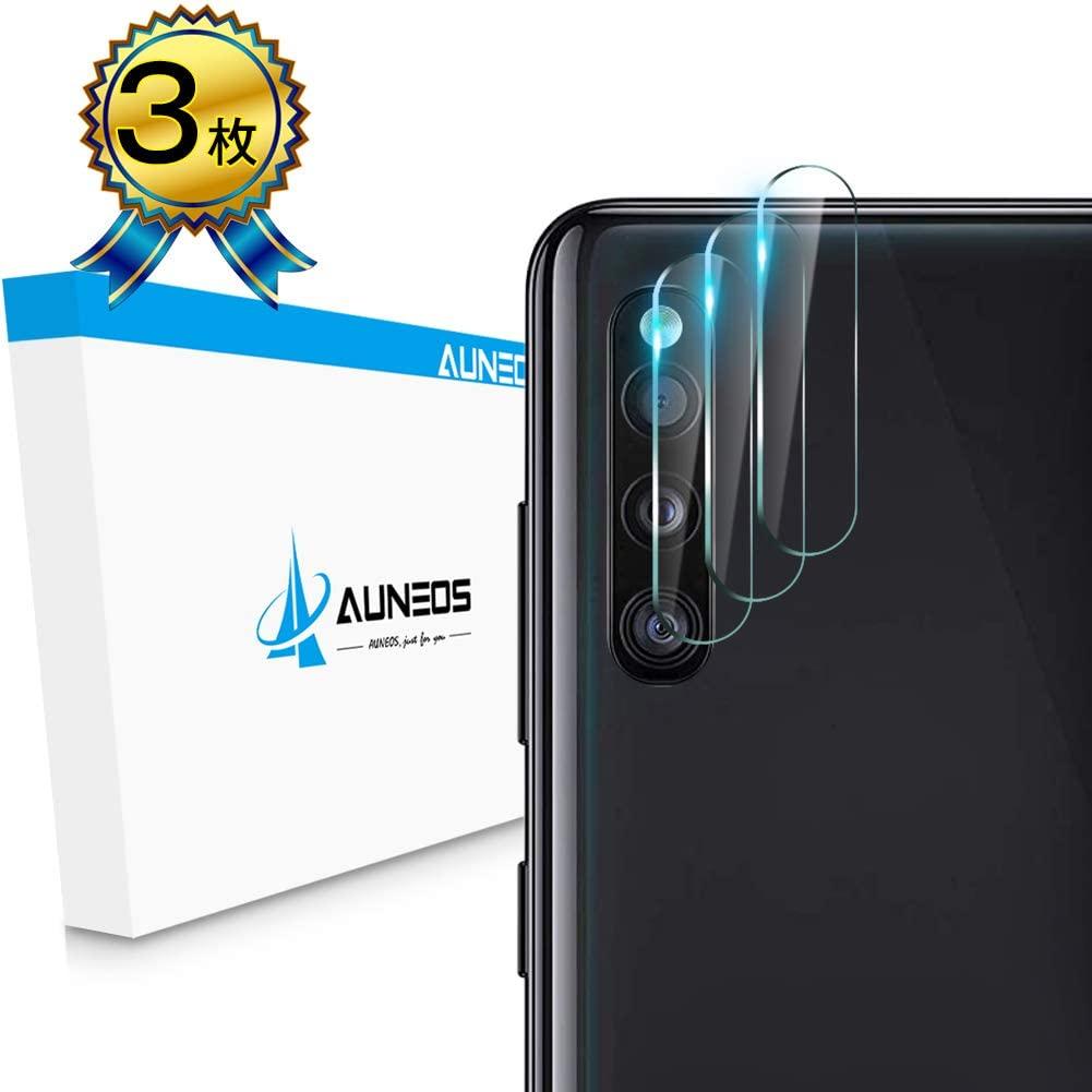 AUNEOS Galaxy A41 レンズ保護 ガラスフィルム