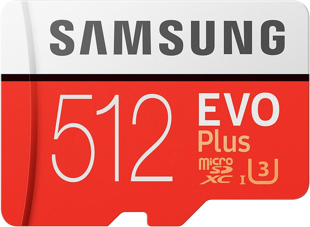 Samsung MicroSDカード 512GB/256GB/128GB