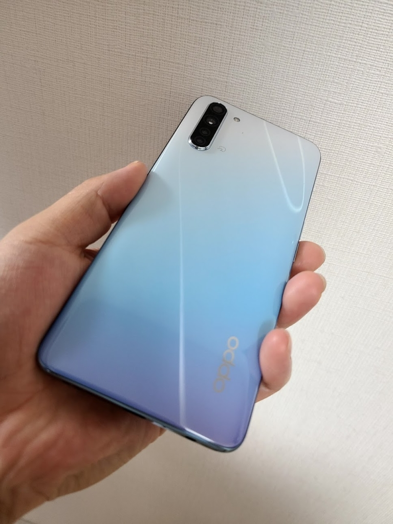 OPPO Reno3 A グラデーション