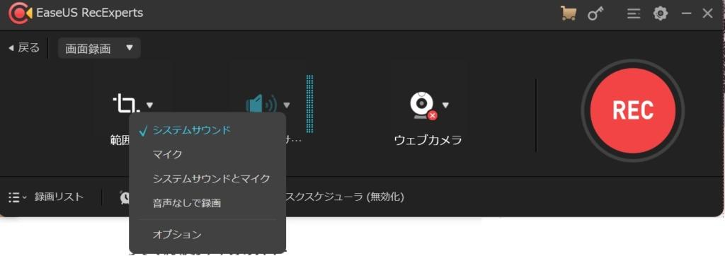 画面/ビデオや音声を同時に記録