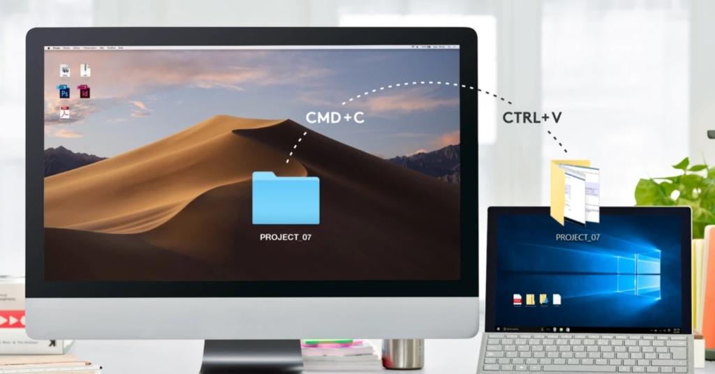 MX Master 3と併用でパソコン感のコピー&ペーストが可能