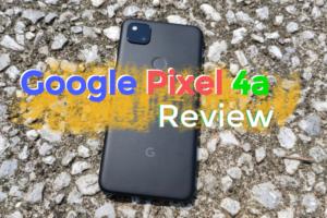 Pixel4a レビュー