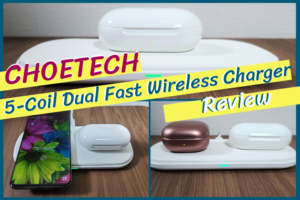 CHOETEC Wireless Chargerレビュー