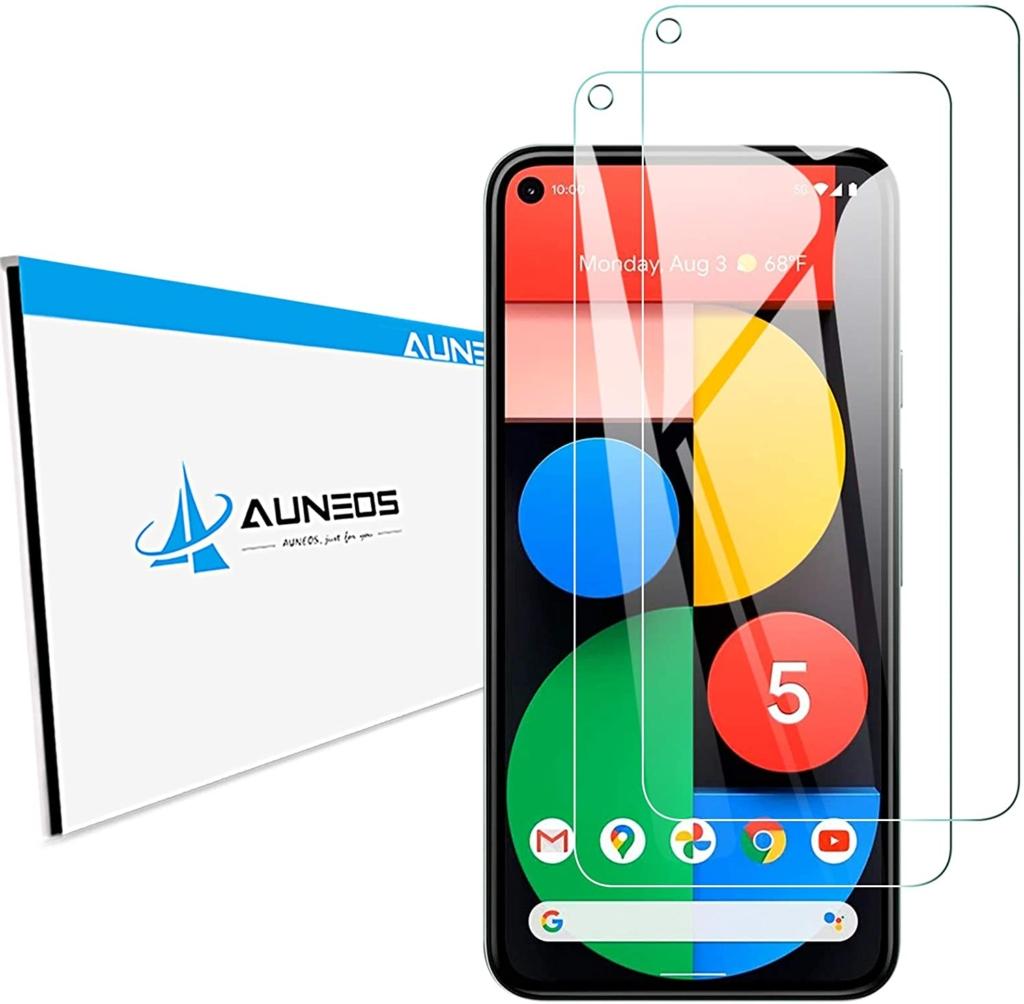 AUNEOS Google Pixel 5 ガラスフィルム