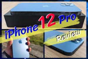 iPhone12 Proのレビュー|iPhoneらしいハイレベルな仕上がり!13万の価値があるかはわからないが・・