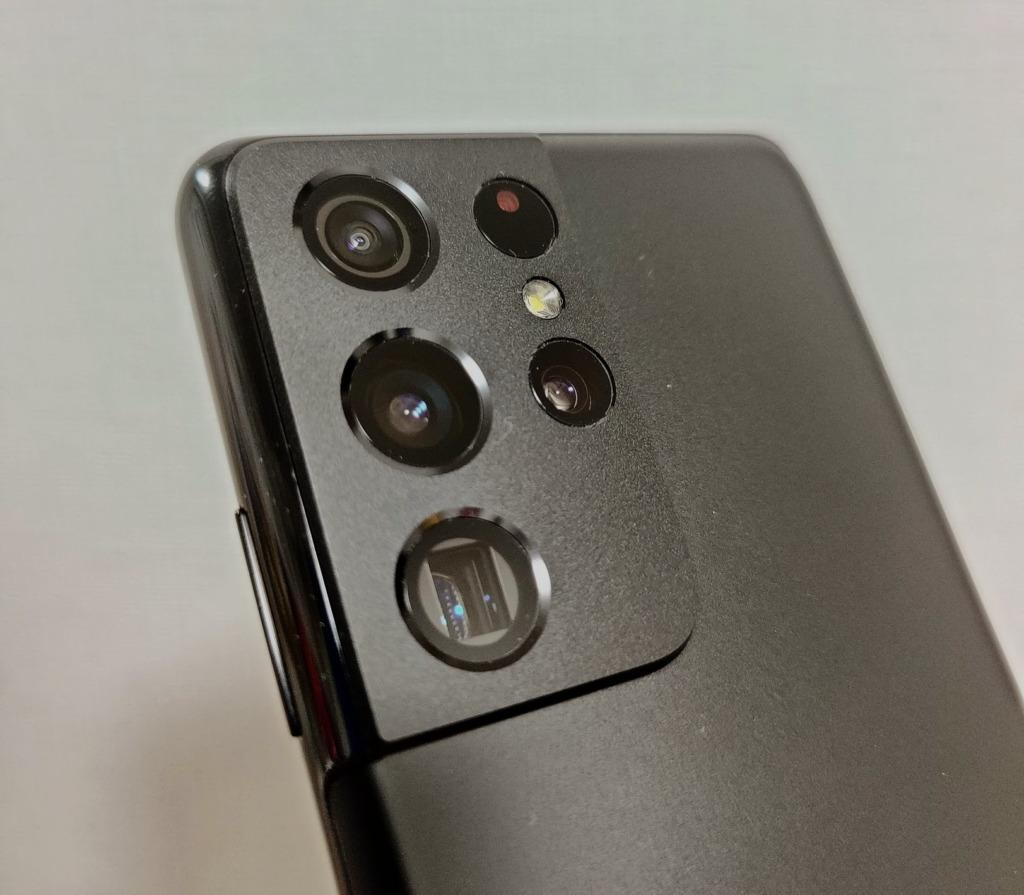 独特なカメラデザイン