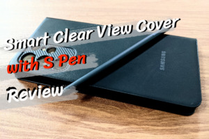 Smart Clear View Cover with S Penのレビュー|Sペンを収納可能な純正ケース