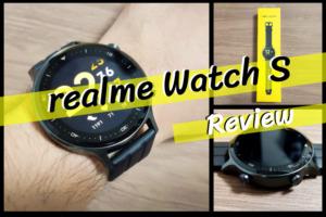 realme Watch Sのレビュー|最大15日の電池持ちは本当だった!