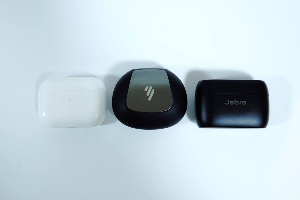 Airpods Pro/jabra Elite 85tとの比較