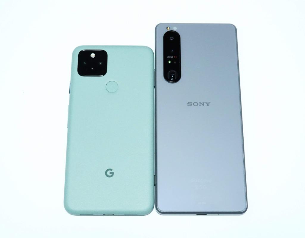 Pixel5との比較