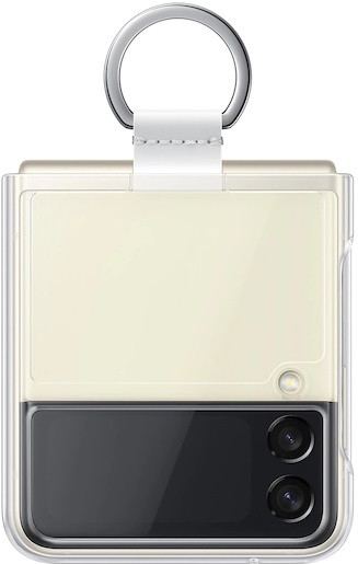 Clear Cover with Ring